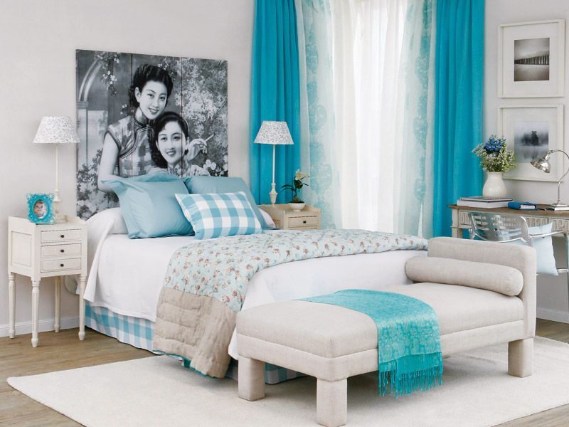 Conferencia mil y una ideas para decorar tu habitaci n y for Muebles romanticos blancos