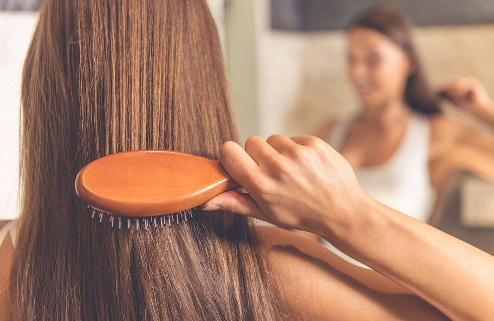 cepillarte el cabello