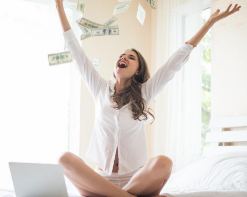 Gastar el dinero como modelo webcam